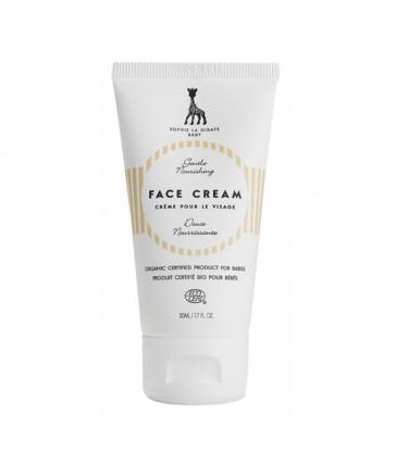 Crème visage bébé SOPHIE LA GIRAFE certifié naturel - 50ml