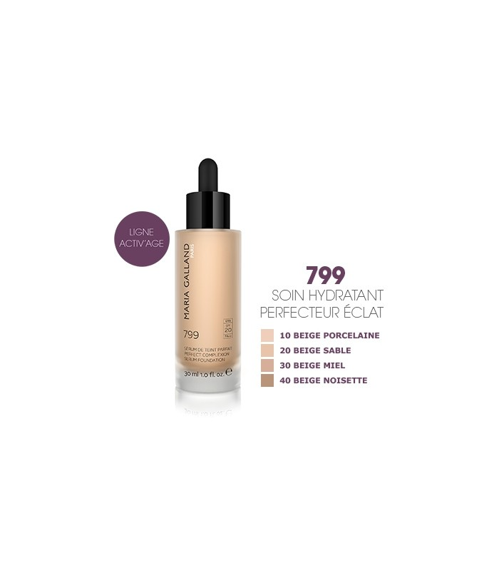 SÉRUM DE TEINT PARFAIT MARIA GALLAND 799 N° 20 BEIGE SABLE