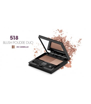 BLUSH POUDRE DUO 518 MARIA GALLAND N° 35 CANELLE