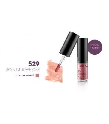 SOIN NUTRI-GLOSS 529 MARIA GALLAND N°20 Rose perlé