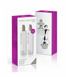 Coffret Duo 2 X400 ml LAIT DEMAQUILLANT DOUCEUR N°61 + LOTION SOYEUSE N°64 Maria Galland