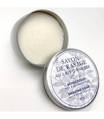 Savon de rasage au lait d'ânesse