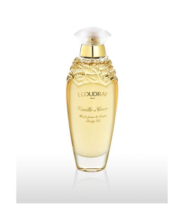 Huile parfumée pour le corps VANILLE ET COCO Coudray