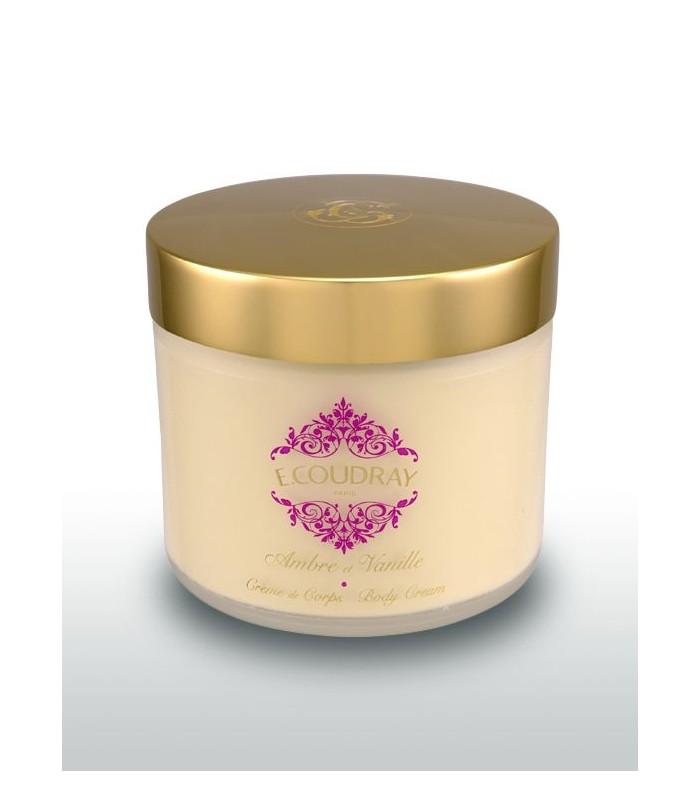 Coudray Crème parfumée pour le corps AMBRE ET VANILLE-pot 250 ml
