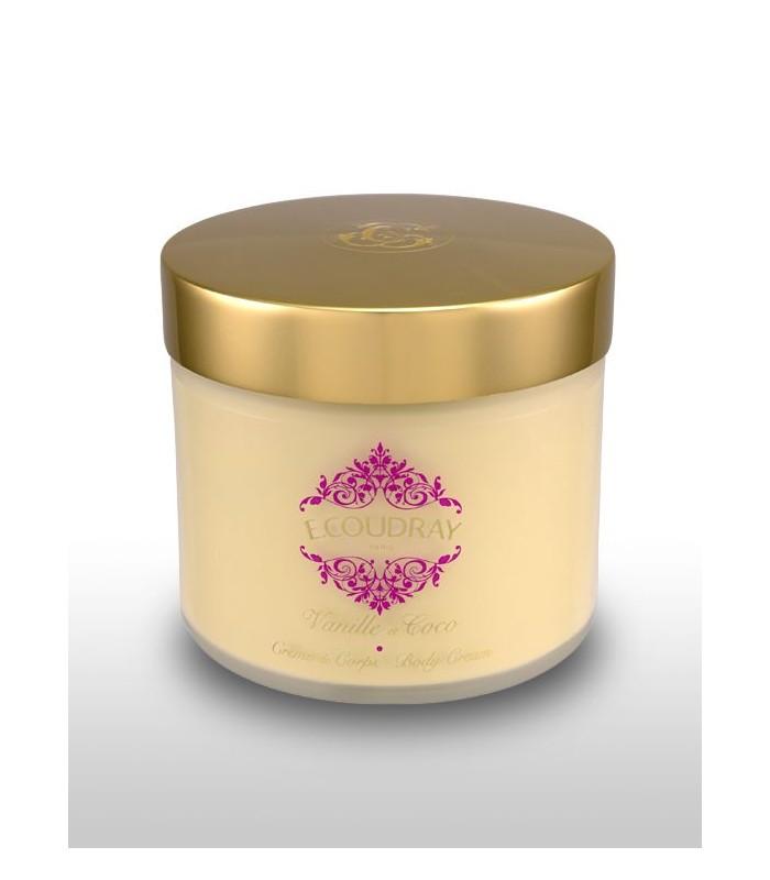 Coudray Crème parfumée pour le corps VANILLE ET COCO-pot 250 ml