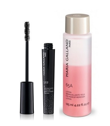 COFFRET TROUSSE DUO 65A et MASCARA SUPER EXTENSION MARIA GALLAND