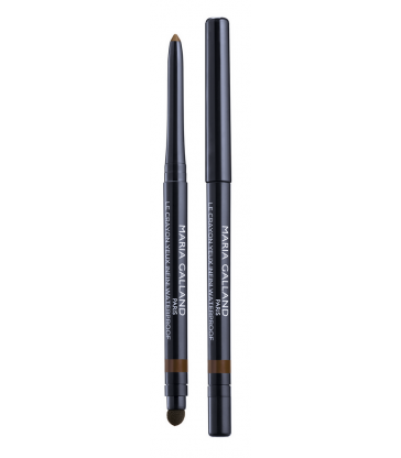 524 Crayon Yeux Infini Waterproof N°12 Brun Ambré Maria Galland