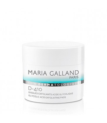 Maria Galland Disques exfoliants acide glycolique D-410