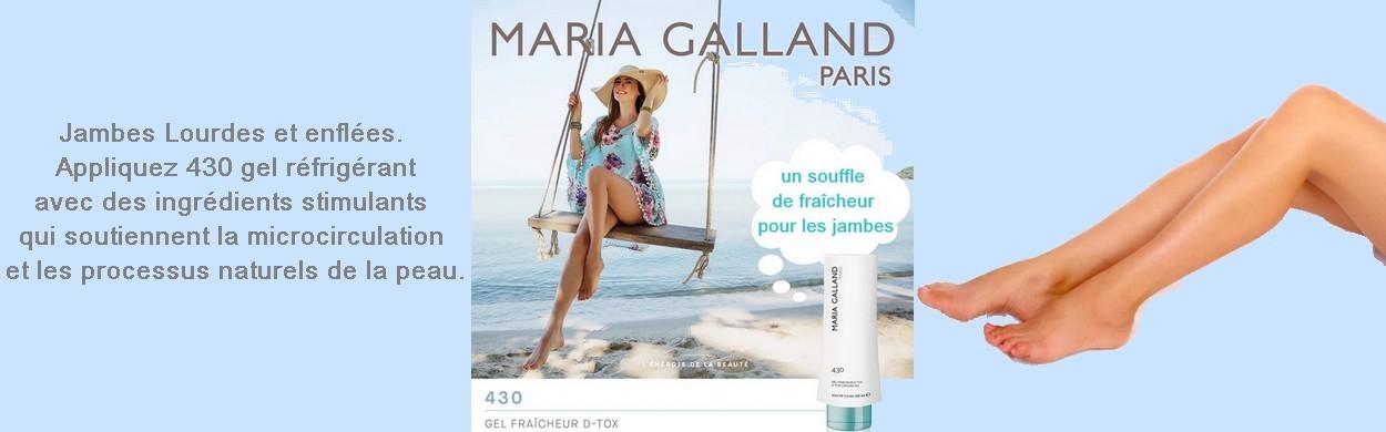 GEL FRAÎCHEUR D-TOX MARIA GALLAND 430
