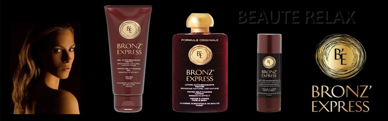 Préparez, hâlez et sublimez votre peau avec Bronz'Express.