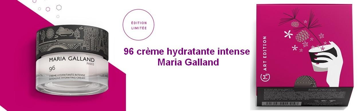 96 crème hydratante intense Maria Galland
