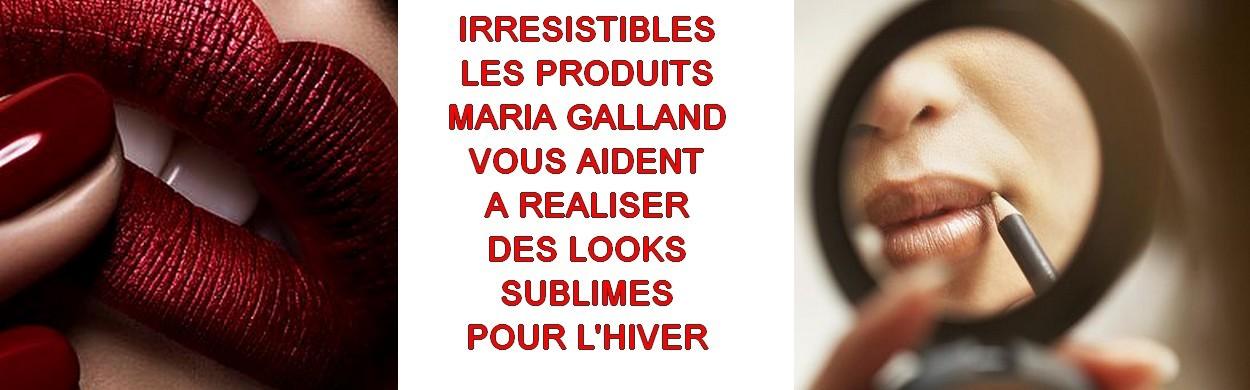 sublimez votre maquillage avec Maria Galland